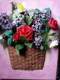 Paper Quilling Flower Baskets Paper Quilling Rose Flower Basket Under Fontanacountryinn Com