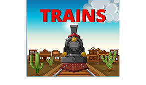 This train painting page is easy for children to work with. Train Coloring Books For Kids Ages 4 8 Funny Coloring Pages A Train Coloring Book For Toddlers Kids Ages 4 8 Preschoolers Brad Jack 9781671826236 Amazon Com Books