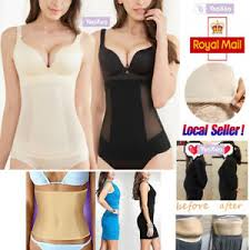 Details About Body Shaper Invisible Tummy Trimmer Waist Clincher Girdle Corset Slimming Dress