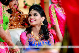Indian Bridal Hairstyles Photographs For Reception