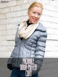 cozy in quilted down coat by kenneth cole