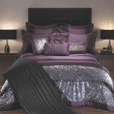purple comforter sets king size bedding black 15