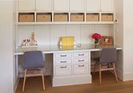 Nook with Built In Desk