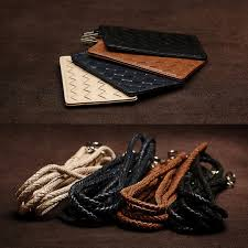 Real Leather Lanyard Card Holder, Luxury, Accessories on Carousell
