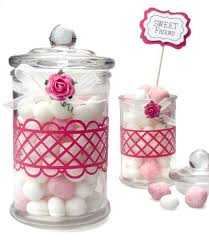 How To Decorate Candy Jars Vinyl Decorated Glass Treat Jars Pazzles Craft Room 1