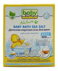 <b>Детская морская соль для</b> ванн в фильтр-пакетах Натуральная ...