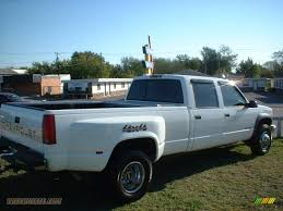 1997 Chevrolet C/K 3500 K3500 Crew Cab 4x4 Dually in Summit White ...