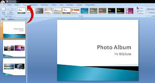 powerpoint photo albums how to create digital photo albums with powerpoint 2007 6 steps