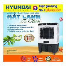 Quạt Điều Hòa Hyundai HDE 6050,Quạt Hơi Nước Dung Tích 50L,bảo hàng 12  tháng - Máy làm mát không khí & Điều hoà cầm tay