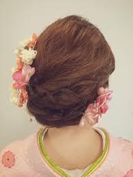お呼ばれ結婚式に和装に合わせたいヘアスタイルまとめhair