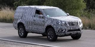 2018 nissan 4runner. interesting 2018 2018 nissan navara suv spy to nissan 4runner
