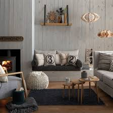 Fireplaces With Bench. Glamorous Living RoomsGray ...
