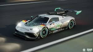 1000 hp is the start amg is also testing the car's active aerodynamics, which include active louvers on top of the front wheel arches and an extendible rear wing. Mercedes Amg Project One Lmgte Pro Concept Wec