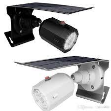 led solar light simulated outdoor motion sensor wall lamps 10 led solar power street light