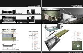 Exquisite Architectural Portfolio Examples On Architecture With