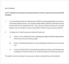 Sample Proposal Letter For Consultancy Services Consulting Proposal Template 18 Free Word Pdf Format