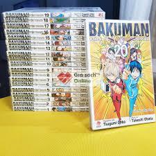Trọn bộ Bakuman 20 tập - Giấc mơ họa sĩ truyện tranh - Trọn bộ truyện tranh,  tiểu