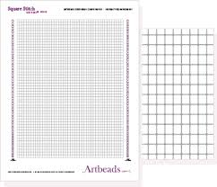 Free Graph Paper App Printable Seed Bead Graph Paper Free Designer Download