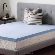 foam mattress topper. Interesting Foam Twin XL Gel Infused Memory Foam Mattress Topper To O