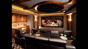 Modern Home Theater Interior Design YouTube - Home theatre interiors
