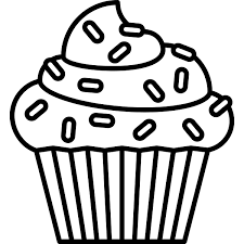 cupcake drawing black and white. Interesting White Svg Freeuse Cupcake Rubber Stamp And Drawing Black White E
