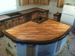 Stamped Concrete Kitchen Floor Stamped Concrete Countertops And Trade Secrets Used In The