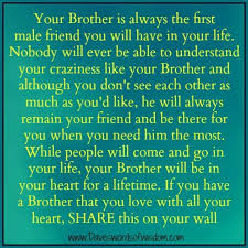 Brotherly Love Quotes Cool Brotherly Love Quotes Print Best Quotes Everydays