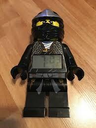 LEGO Ninjago Cole ZX Minifigure Clock (9006791) for sale online