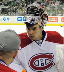 Montreal canadiens goalie carey price, left, poses for a photograph with his wife angela webber, right, in. Carey Price Wikipedia