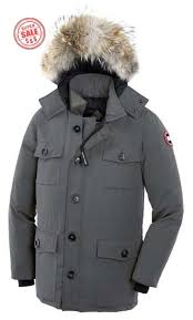 This is addressed to you Canada Goose Banff Parka Mid Grey Mens Jackets New  Fashion but