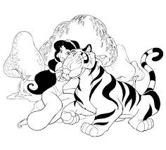 Aladdin 40 Animation Movies Printable Coloring Pages