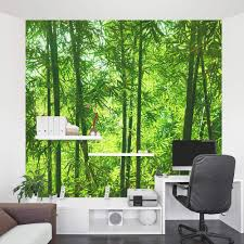 wallpaper for office wall. Bamboo Forest Wall Mural Wallpaper For Office Wall