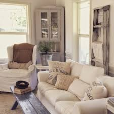 little farmstead charming home tour country living roomsfarmhouse charm impression living room lighting ideas