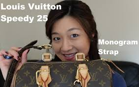 louis vuitton 16mm strap. louis vuitton speedy 25 review | monogram strap (requested) yuenny lam - youtube 16mm