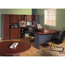 home office desk components. Remarkable Brown Office Desk And Beautiful Round Table Bbf Furniture Home Components