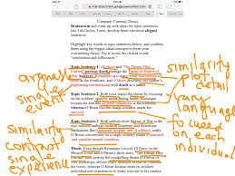 compare contrast essay th grade most viewed thumbnail