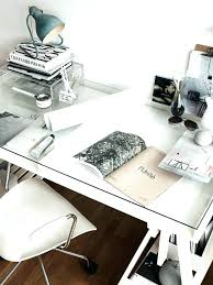 home office white office. White Desk Glass Top A Home Office With And Over Wicker Wood