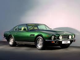 Aston Martin V8 Vantage 1987 Automobile Design