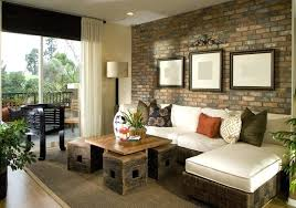 brown accent walls living room decorated living room with brick accent wall brown painted accent wall brown accent walls