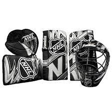 Mylec Goalie Pads Size Chart Franklin Sports 12436 Nhl Mini Hockey Goalie Equipment With Mask Set
