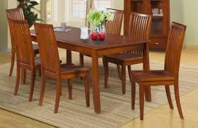 dunedin 7 piece dining suite 1800mm solid timber