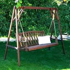 free swing bed plans glider porch how to build a diy cushion swin pallet swing beds