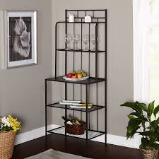Kitchen Rack Amazoncom Bakers Racks Home Kitchen Standing Bakers Racks