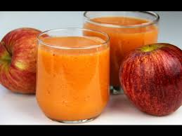 apple carrot orange smoothie day 5