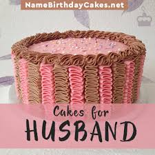 Happy Birthday Cakes For Husband With Name