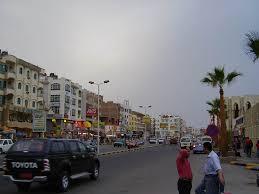 Египет География Египта Географическое положение картв Египта  Хургада центральная улица