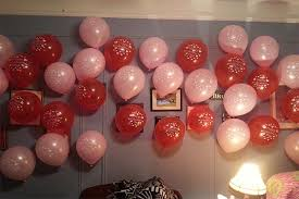 Simple Balloon Decoration Ideas For Birthday Party At Home Simple Balloon Decoration Ideas At Home