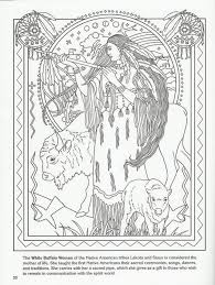 Native American Coloring Pages Fabulous Native American Girl