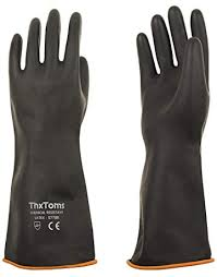 Butyl Glove Chemical Resistance Chart Amazon Com Chemical Resistant Gloves Tools Home Improvement