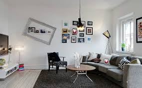 white wooden floor modern minimalist living room interior design